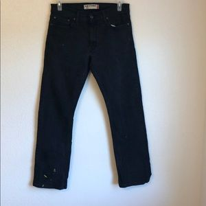 Levi jeans a couple of yellow spots 34/ 32